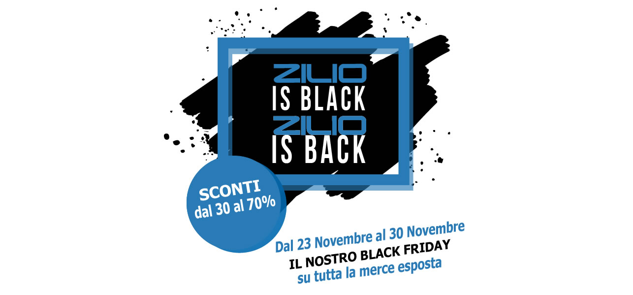 Black Friday Zilio Interni